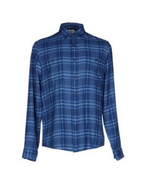 Pубашка FAHERTY. Цвет: пастельно-синий