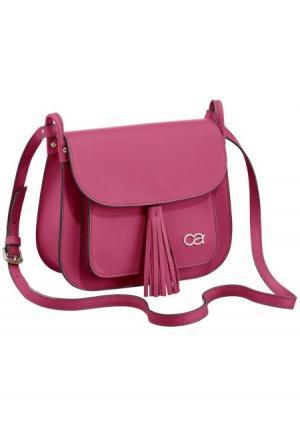 Сумка Collezione. Цвет: розовый, серо-коричневый, ярко-розовый