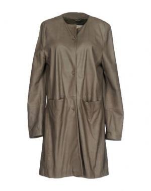 Легкое пальто VINTAGE DE LUXE. Цвет: серый