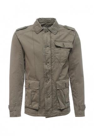 Куртка Solid. Цвет: зеленый