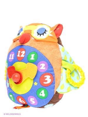 Часы-Сова K'S Kids. Цвет: красный, желтый, синий, зеленый