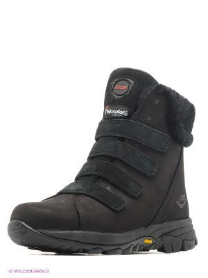 Ботинки Ascot. Цвет: антрацитовый