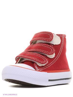 Кеды 4U. Цвет: бордовый, белый, черный