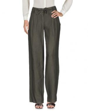 Повседневные брюки LA FEE MARABOUTEE. Цвет: зеленый-милитари