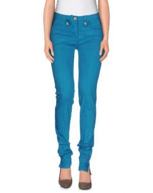 Повседневные брюки WEBER. Цвет: бирюзовый