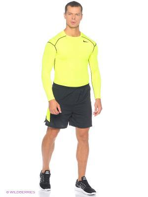 Шорты 7 PURSUIT 2-IN-1 SHORT Nike. Цвет: желтый, черный