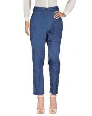 Повседневные брюки PDR PHISIQUE DU ROLE. Цвет: синий