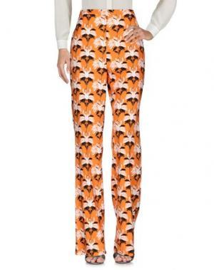 Повседневные брюки MARIA GRAZIA SEVERI. Цвет: оранжевый