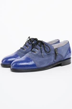 Ботинки Bouton. Цвет: синий