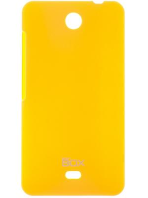 Microsoft Lumia 430 skinBOX Shield 4People. Цвет: желтый
