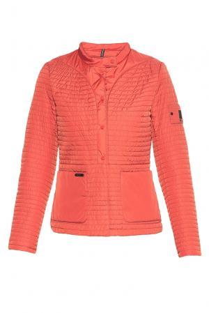 Утепленная куртка 181585 Misun. Цвет: оранжевый