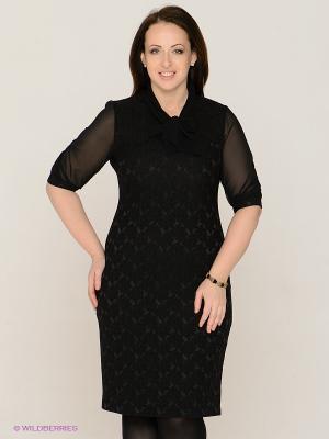 Платье MAFUERTA. Цвет: черный