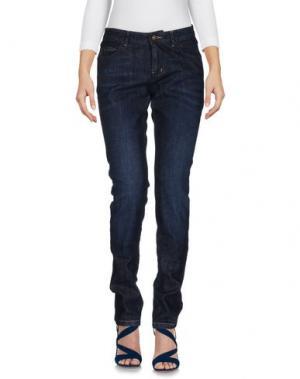 Джинсовые брюки HISTORIC. Цвет: синий