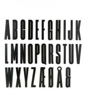 Игра Sebra Design Letters. Цвет: черный