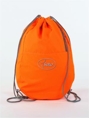 Мешок для обуви SOLO. Цвет: оранжевый
