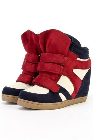 Ботинки Sorte Felice. Цвет: красный