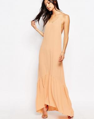 Flynn Skye Платье макси Topanga. Цвет: розовый