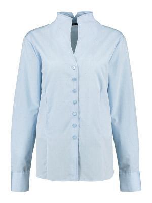 Блуза Eterna. Цвет: голубой