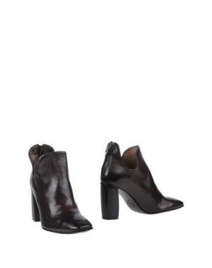 Ботинки PREVENTI. Цвет: темно-коричневый
