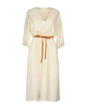 Платье до колена SOUVENIR. Цвет: слоновая кость
