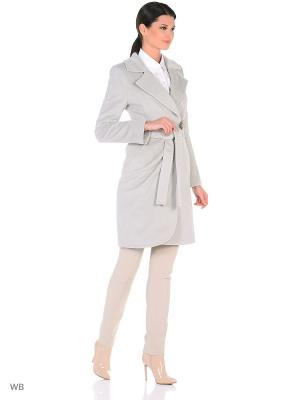 Пальто Lea Vinci. Цвет: серый