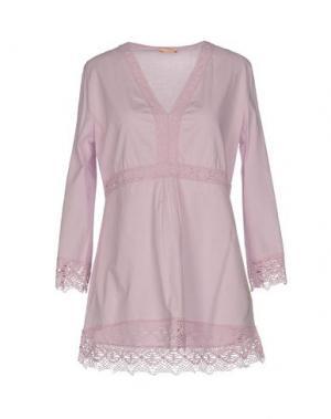 Блузка NOLITA. Цвет: светло-фиолетовый