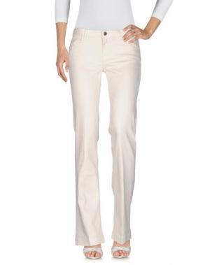 Джинсовые брюки PEUTEREY. Цвет: белый
