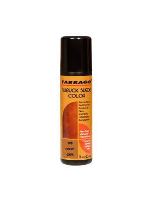Краситель для замши и нубука, NUBUCK COLOR, флакон, 75мл. (08 охра) Tarrago. Цвет: коричневый