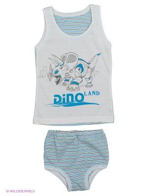 Комплекты одежды для малышей Русь симбирская. Цвет: бежевый, белый