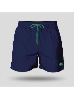 Шорты пляжные мужские JOHN FRANK. Цвет: синий, зеленый