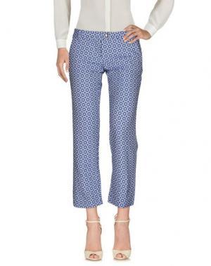 Повседневные брюки BLANCA LUZ. Цвет: ярко-синий