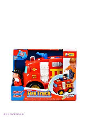 Развивающая игрушка Пожарная машина Kiddieland. Цвет: красный