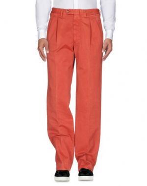 Повседневные брюки ROTASPORT. Цвет: кирпично-красный