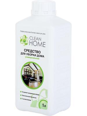 Средство для уборки дома.  1000 мл. CLEAN HOME. Цвет: прозрачный