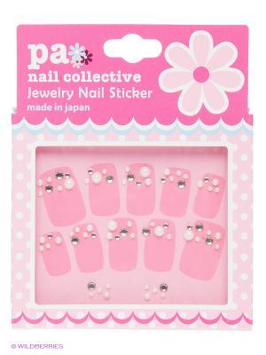 Наклейки для ногтевого дизайна Белые Капли PA NAIL COLLECTIVE Jewelry Sticker White Drops presents since 2004 ETERNAL. Цвет: белый
