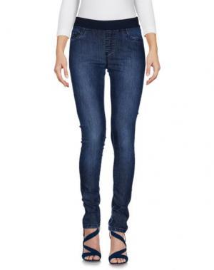 Джинсовые брюки PIU' &. Цвет: синий