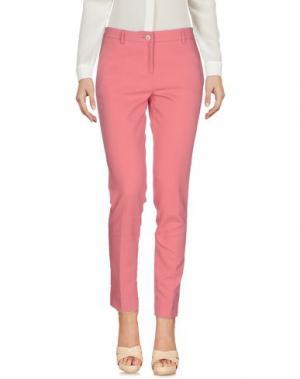 Повседневные брюки ROSSO35. Цвет: пастельно-розовый