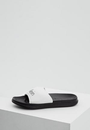 Сланцы Calvin Klein Underwear. Цвет: белый