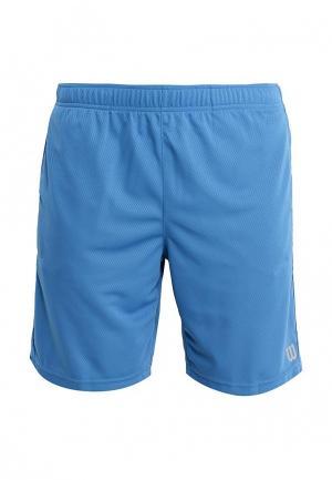 Шорты спортивные Wilson. Цвет: голубой