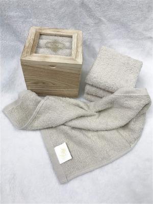 Набор салфеток в декоративной упаковке Sofi de Marko. Цвет: светло-коричневый