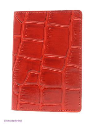Обложка для паспорта A.Valentino. Цвет: красный