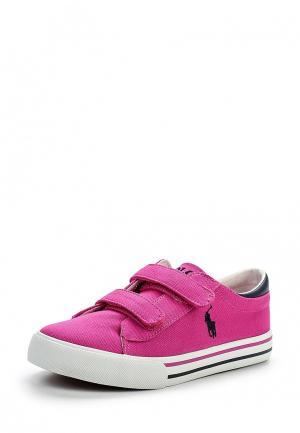 Кеды Polo Ralph Lauren. Цвет: розовый