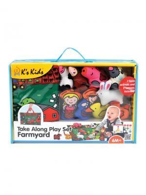Мини ферма K'S Kids. Цвет: зеленый