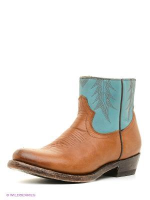 Ботинки ASH. Цвет: бежевый