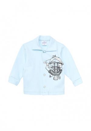 Рубашка Мамуляндия. Цвет: голубой