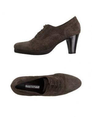Обувь на шнурках GUGLIELMO ROTTA. Цвет: темно-коричневый