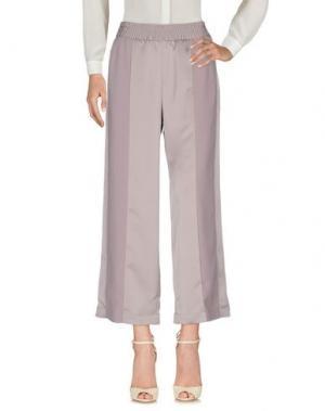 Повседневные брюки CHLOTILDE. Цвет: голубиный серый