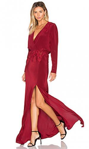 Вечернее платье alabama STONE_COLD_FOX. Цвет: красный