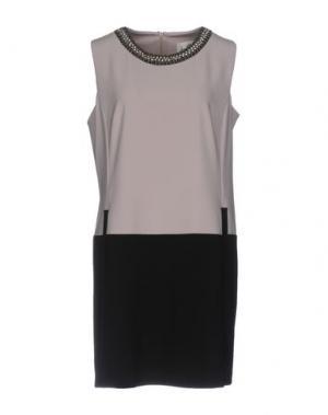 Короткое платье JOSEPH RIBKOFF. Цвет: светло-серый