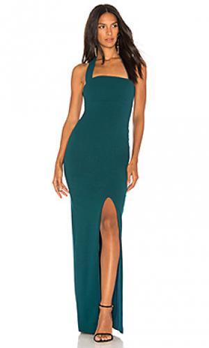 Вечернее платье boulevard Nookie. Цвет: сине-зеленый